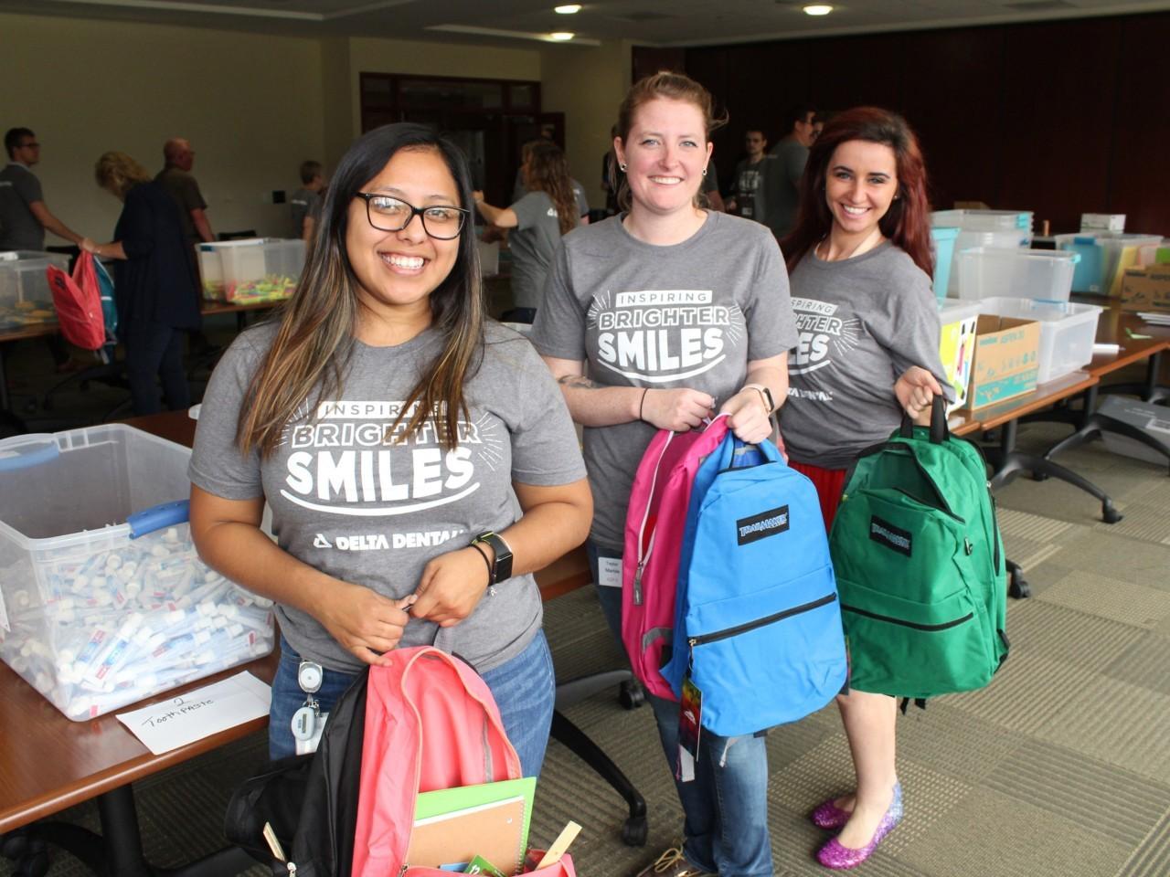 Delta Dental Pack a Smile