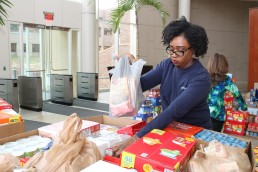 Delta Dental food drive
