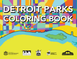 Detroit Parks Coloring Book