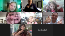 Girl Scouts Earn Smile Squad in Zoom